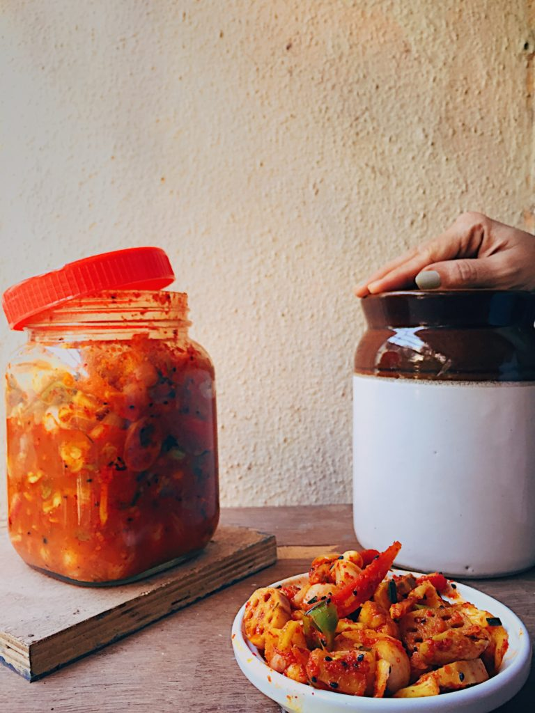 Winter Vegetable Achar