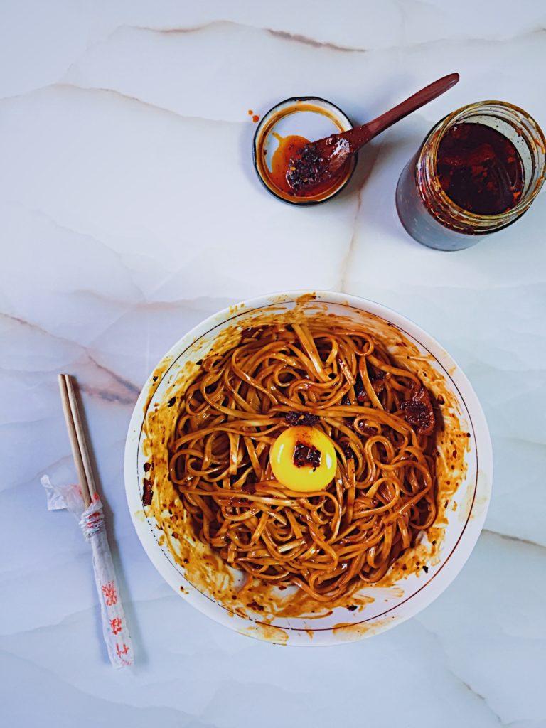 Chinese Dan Dan Noodles