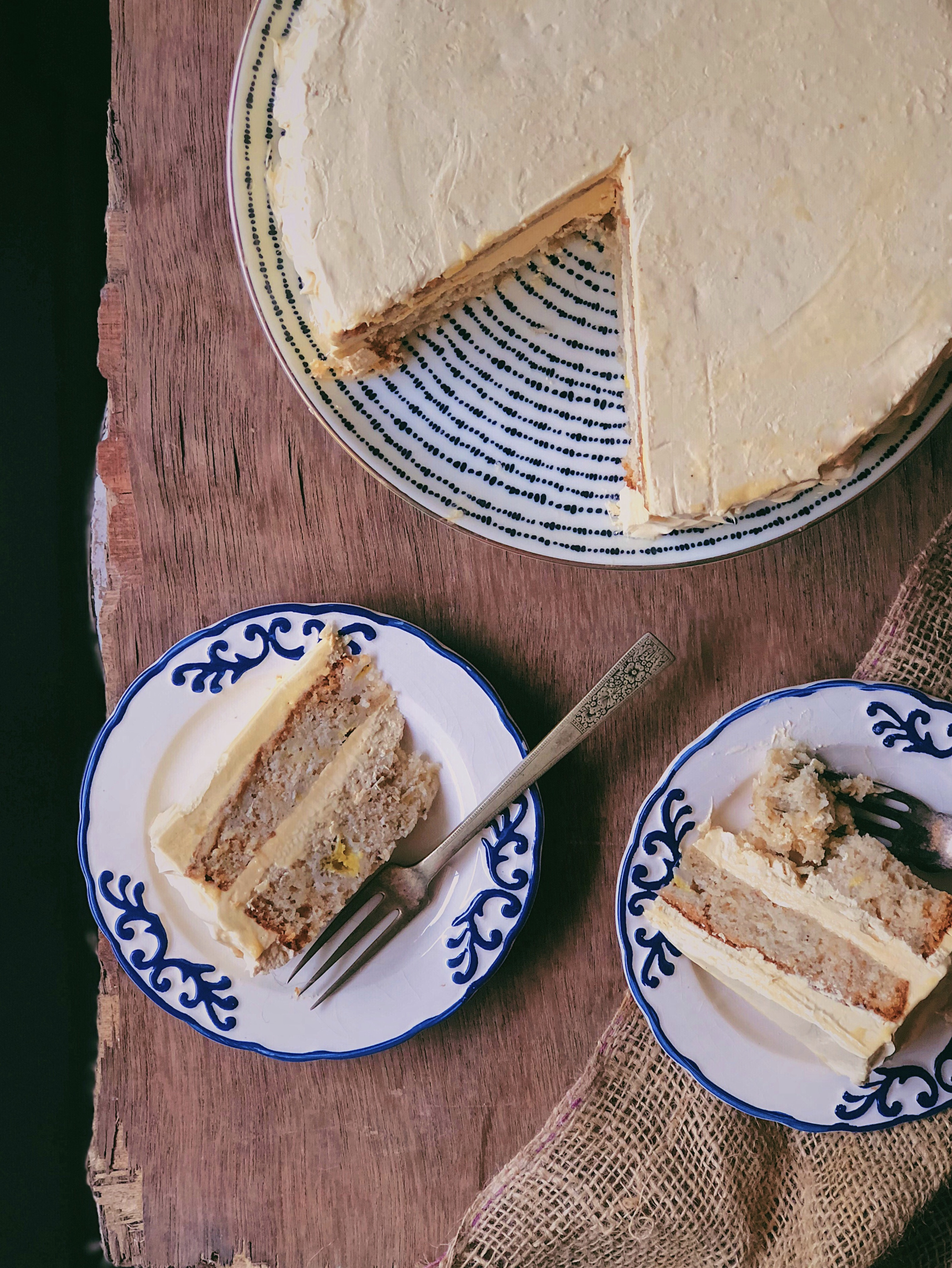 Hummingbird Cake With Salted Caramel Buttercream