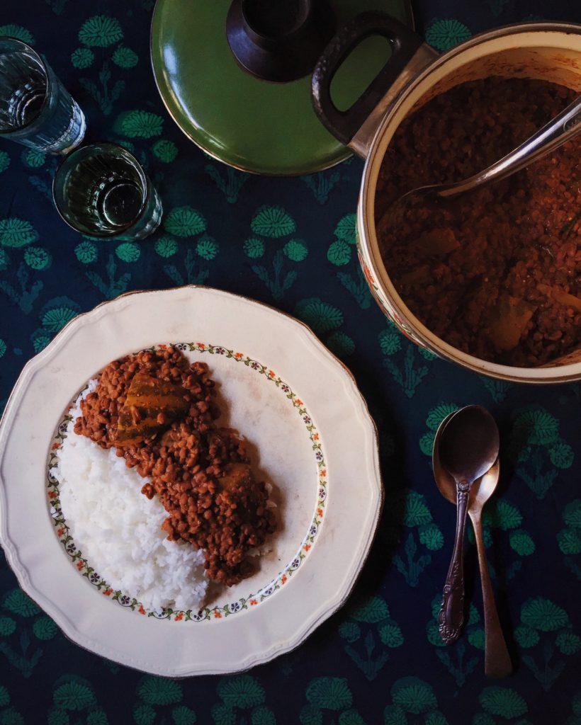 Mangalorean Horse Gram Curry