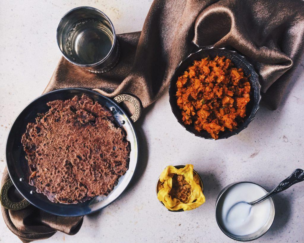 Sindhi Carrot Bhaji