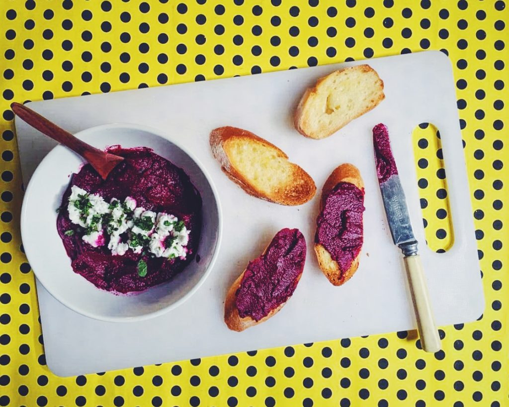 An Unbelievably Good Beetroot Dip