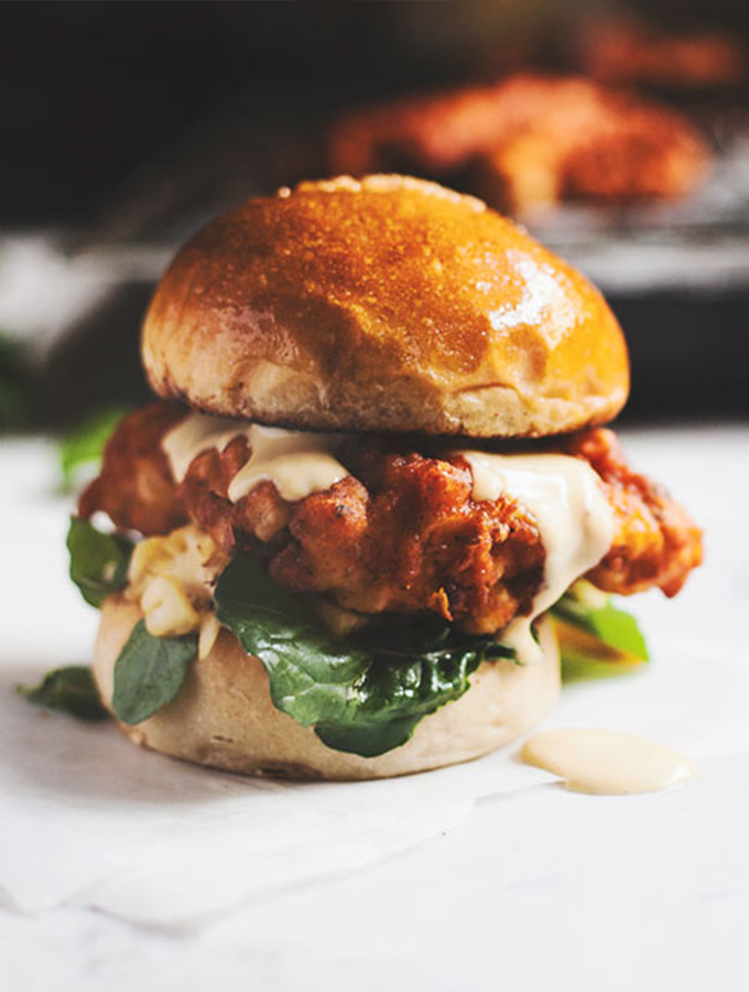 How To Make The Best Spicy Fried Chicken Burger