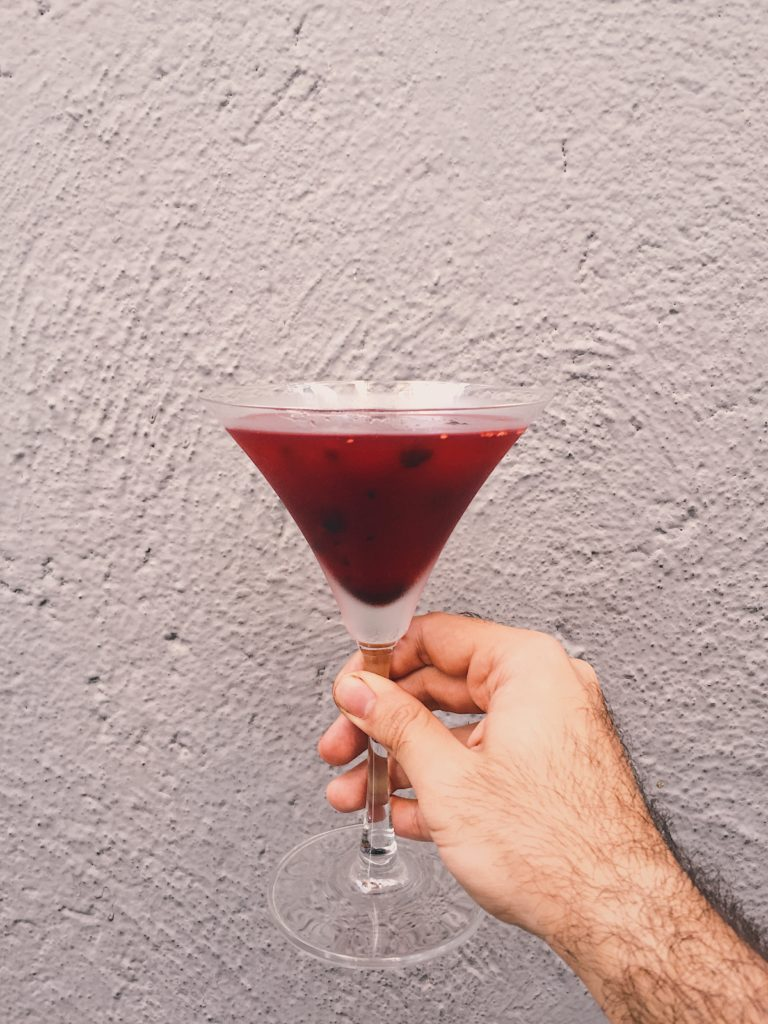 Mulberry Martini
