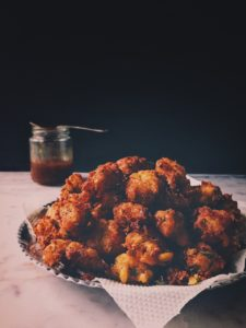 Corn and Baby Methi Pakoras