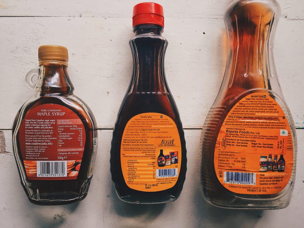 syrup taste test