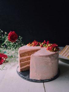 Milk Rose Cake 2