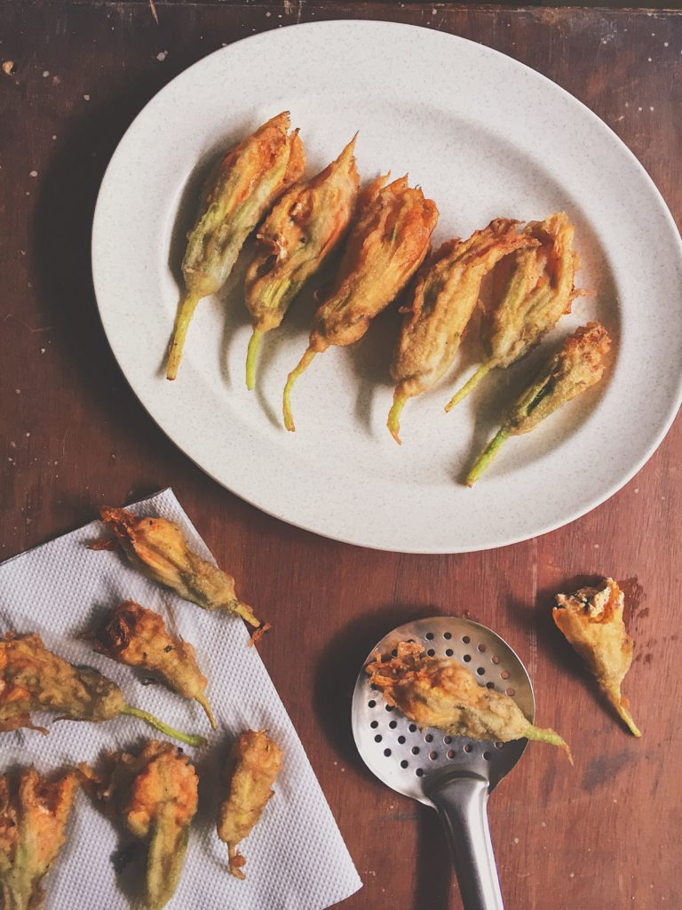 Dahi Kebab Stuffed Pumpkin Flowers