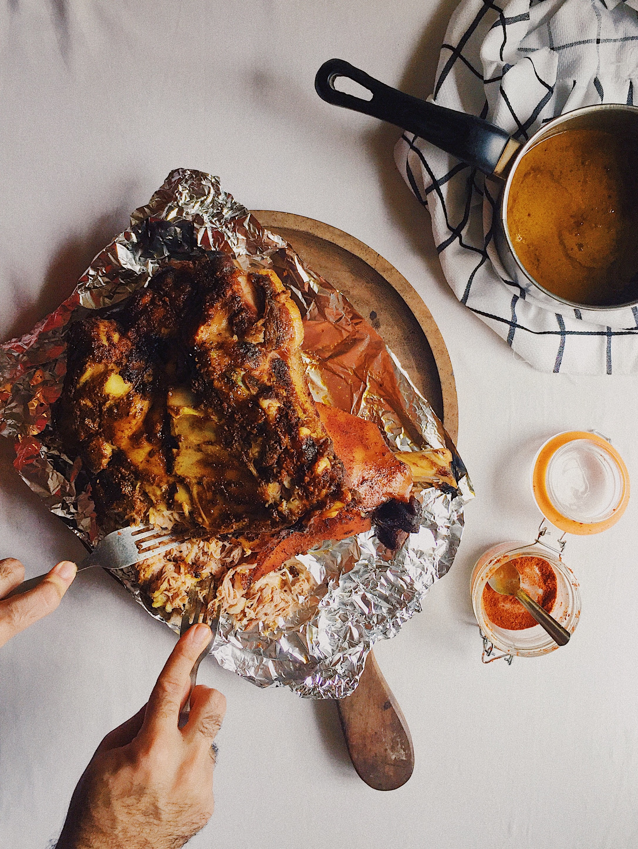 East Indian Bottle Masala Pulled Pork