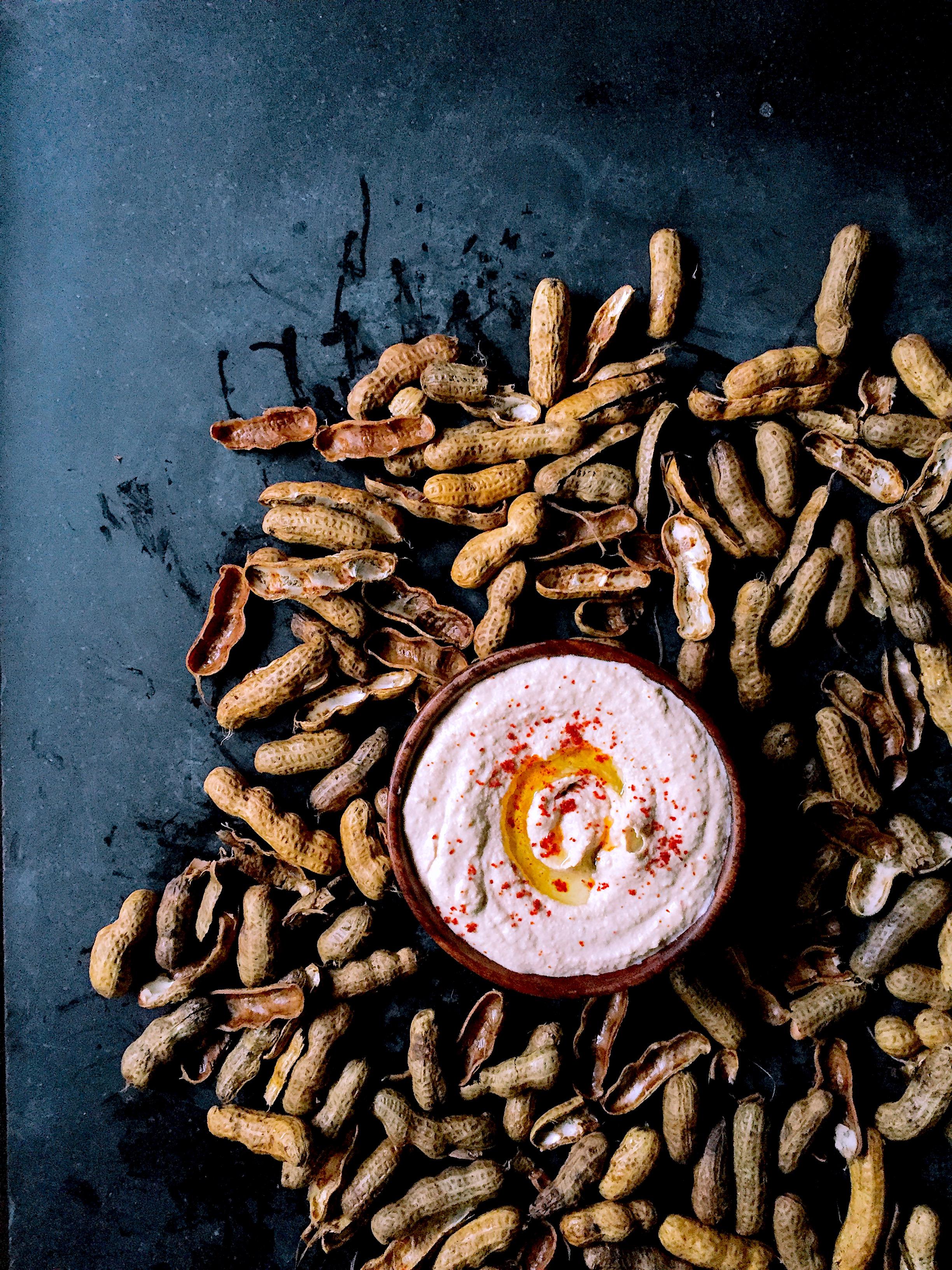 A Very Good Basic Hummus Recipe + My Groundnut Hummus