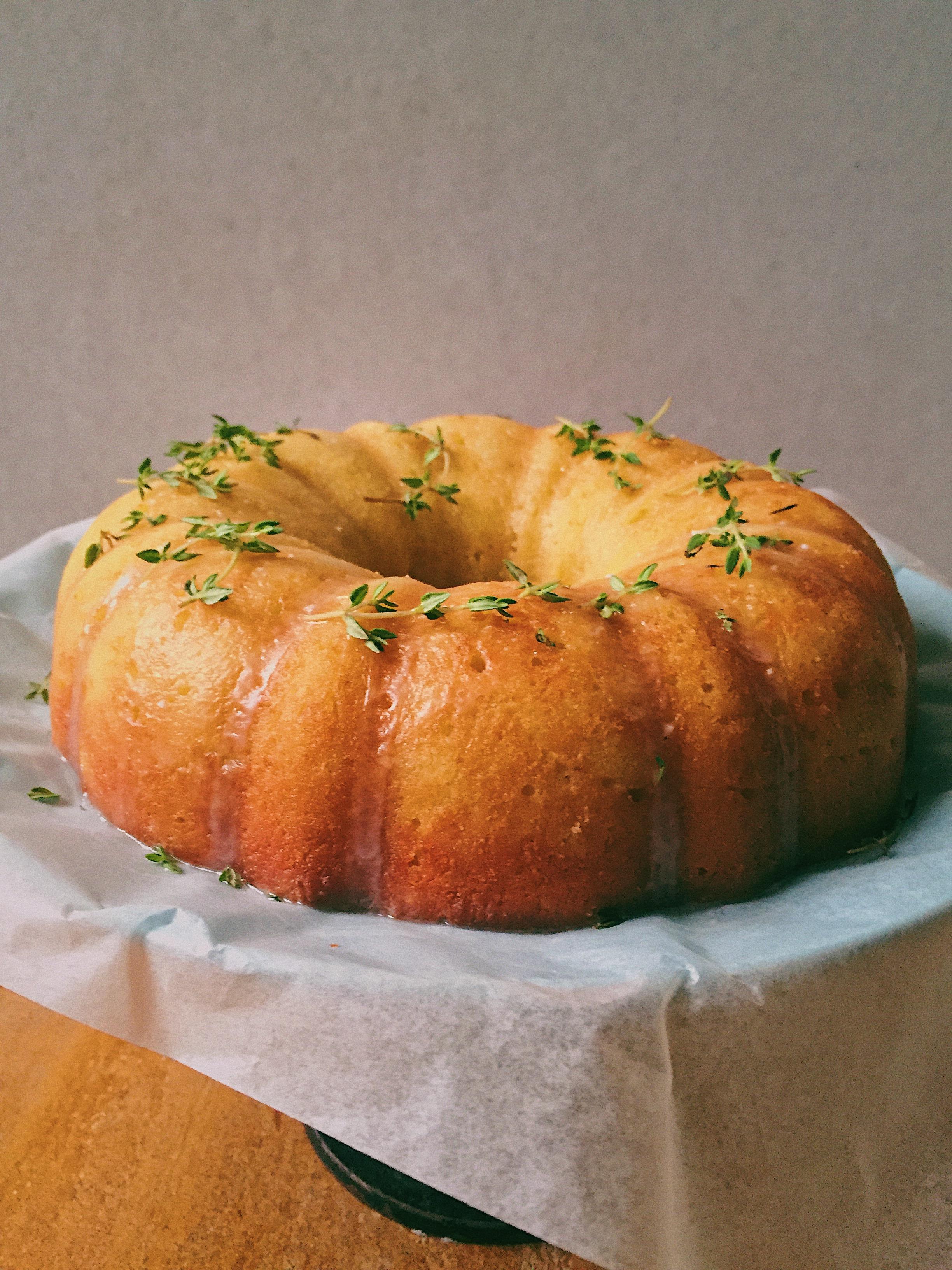 Malai Paneer, Lemon, and Olive Oil Cake + Understanding 00 Flour