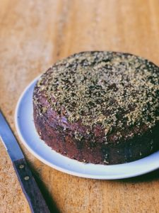 Honey Cake With Orange and Coriander Seeds