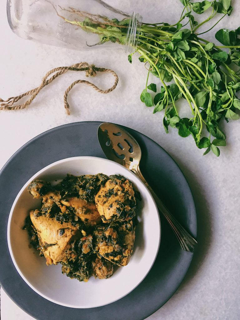 Methi Chicken 2