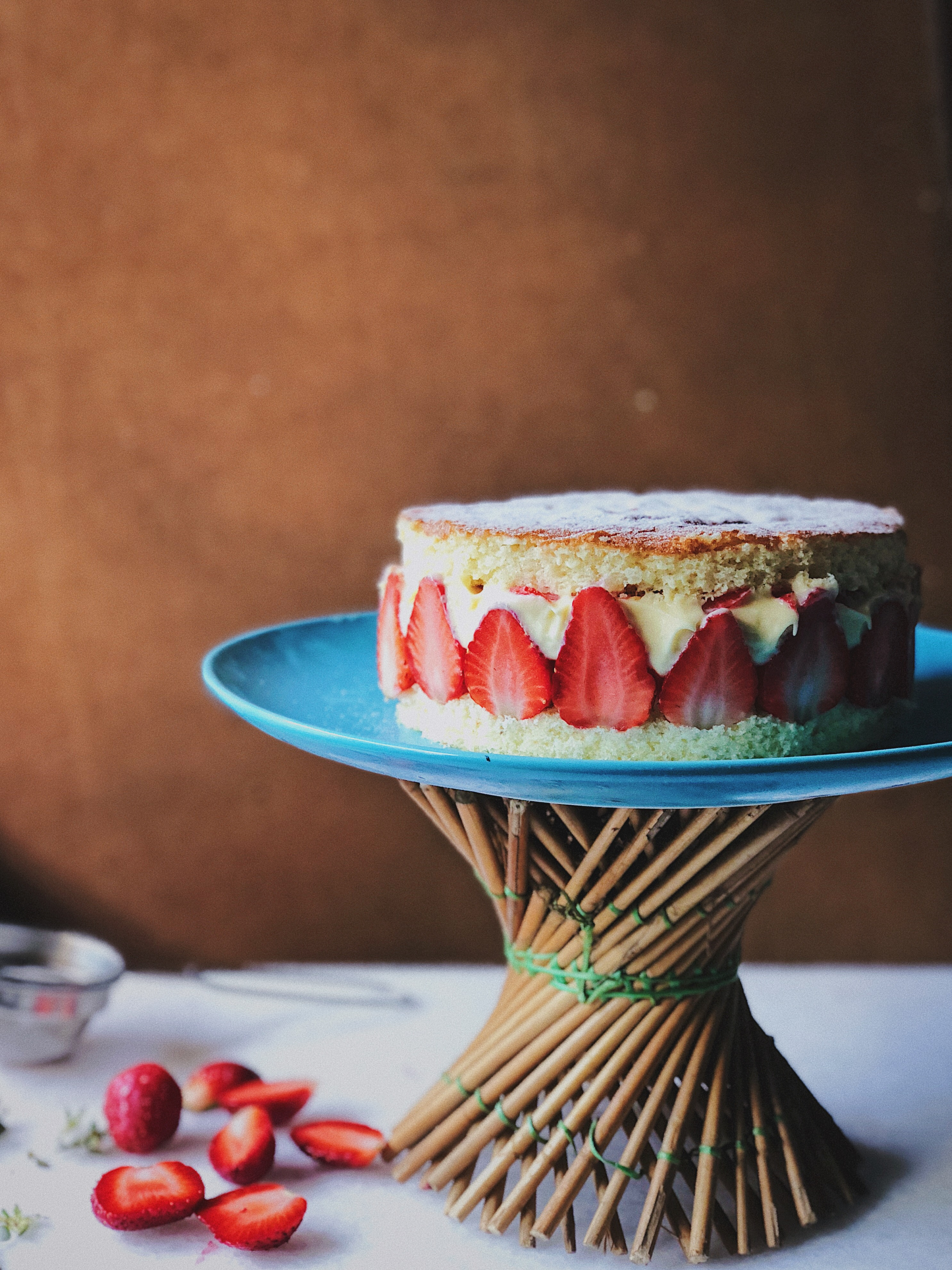 Strawberry Mousseline Cake
