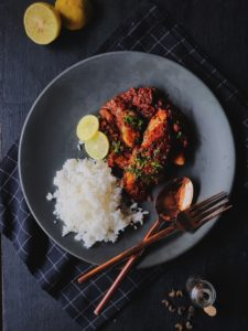 Sichuan Peppercorn and Chilli Fish Curry