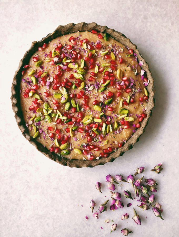 Buckwheat Tart With Caramelised Sama Kheer