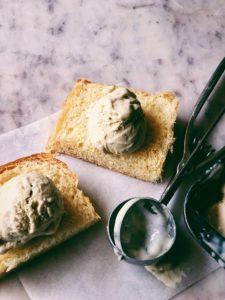 Vanilla Bean and Kakvi Ice Cream