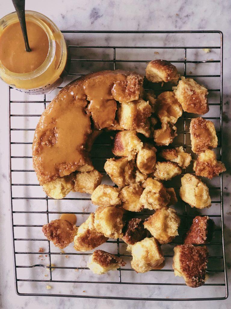 Miso Caramel Monkey Bread