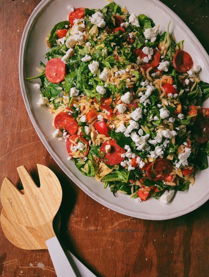 Orzo and Pepperoni Salad 2