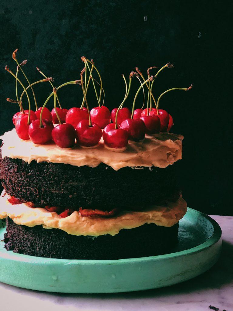 Cherry Cake 1