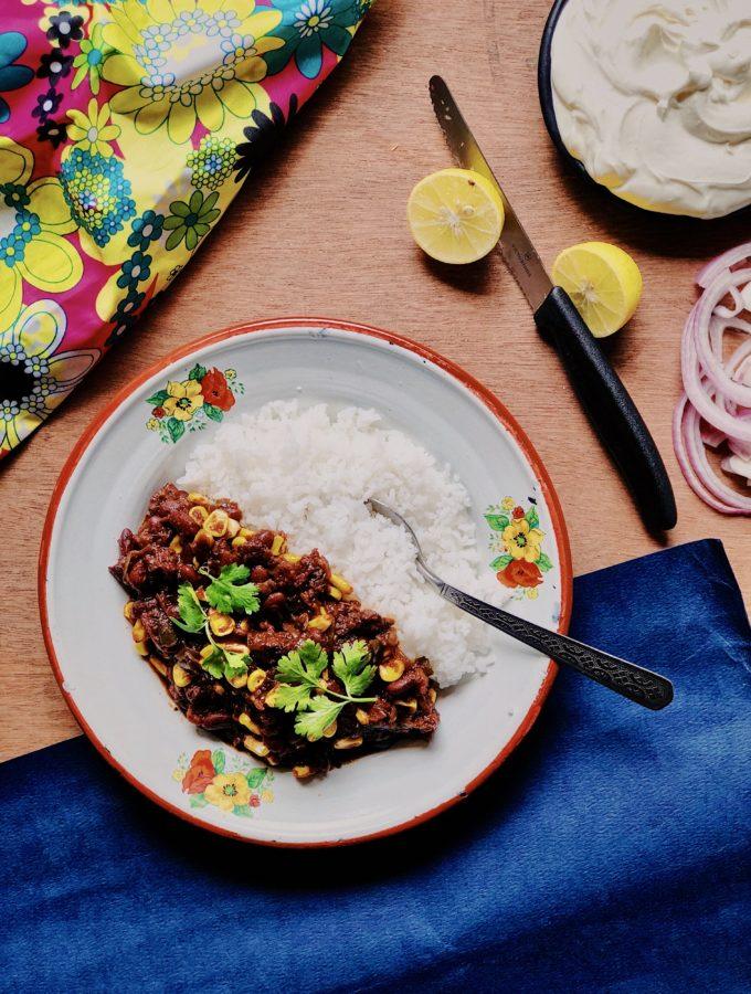Wadiyan Chili With Sweet Corn