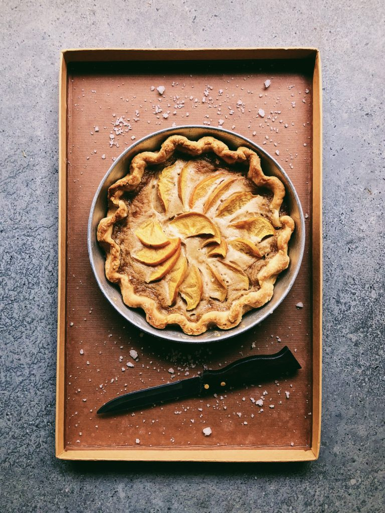 Salted Maple and Persimmon Tart 2