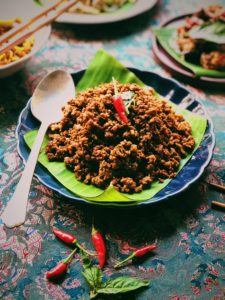 Spicy Stir-Fried Pork In Red Curry Paste