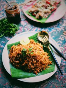 Red Curry Fried Rice With Smoky Chilli Jam