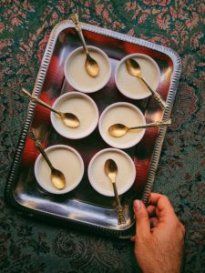 Tender Coconut Pudding Pots