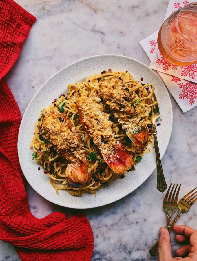 Lobster Thermidor and Spaghetti 2