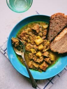 A Lighter Mutton Curry