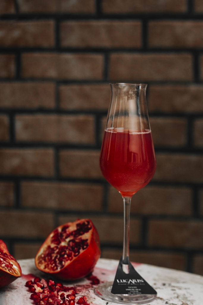 Pomegranate Fizz
