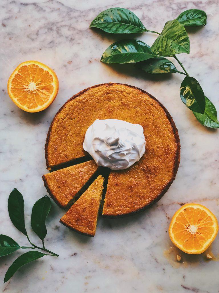 Kinnow Orange and Almond Cake 2