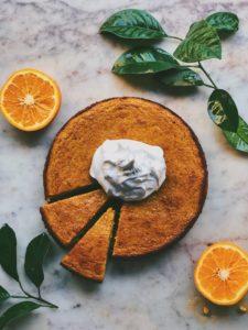 Kinnow Orange and Almond Cake